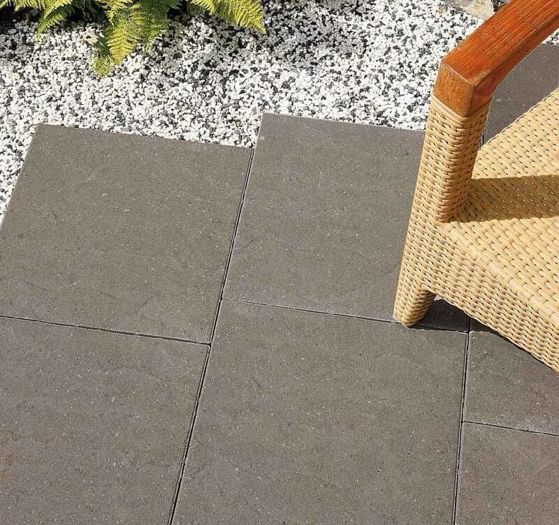 Cashel Charcoal paving flags