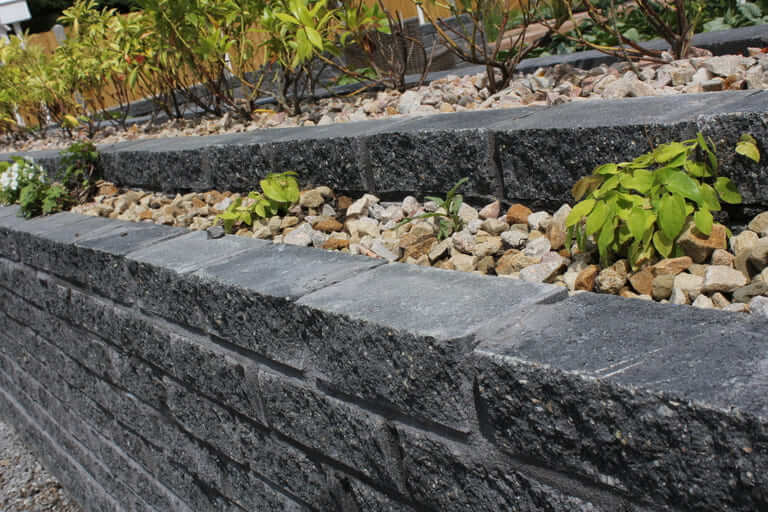 Cooley Charcoal split Architectural Walling