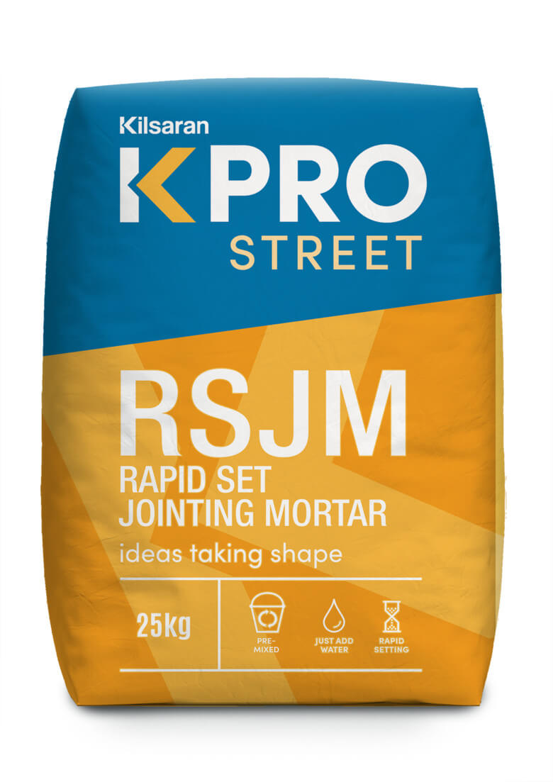 KPRO Street Rapid Setting Jointing Mortar product image