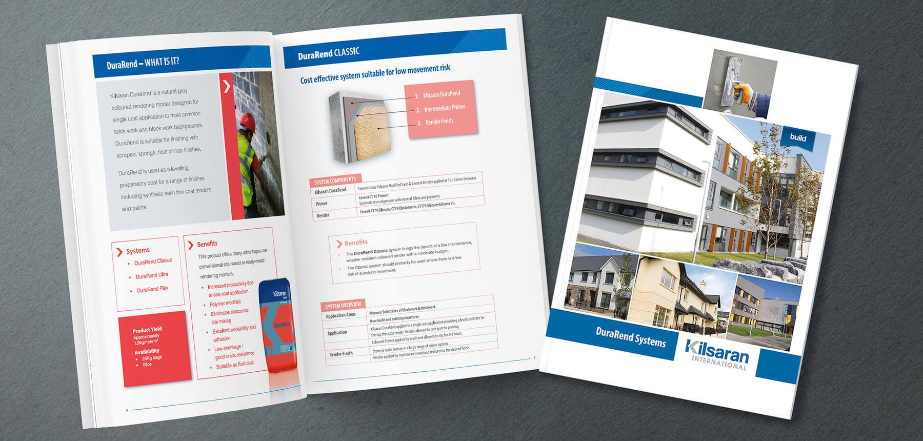 Lilsaran DuraRend Systems brochure 3D visual