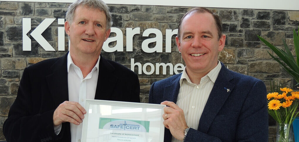 Kilsaran Retain Safe T Cert Accreditation