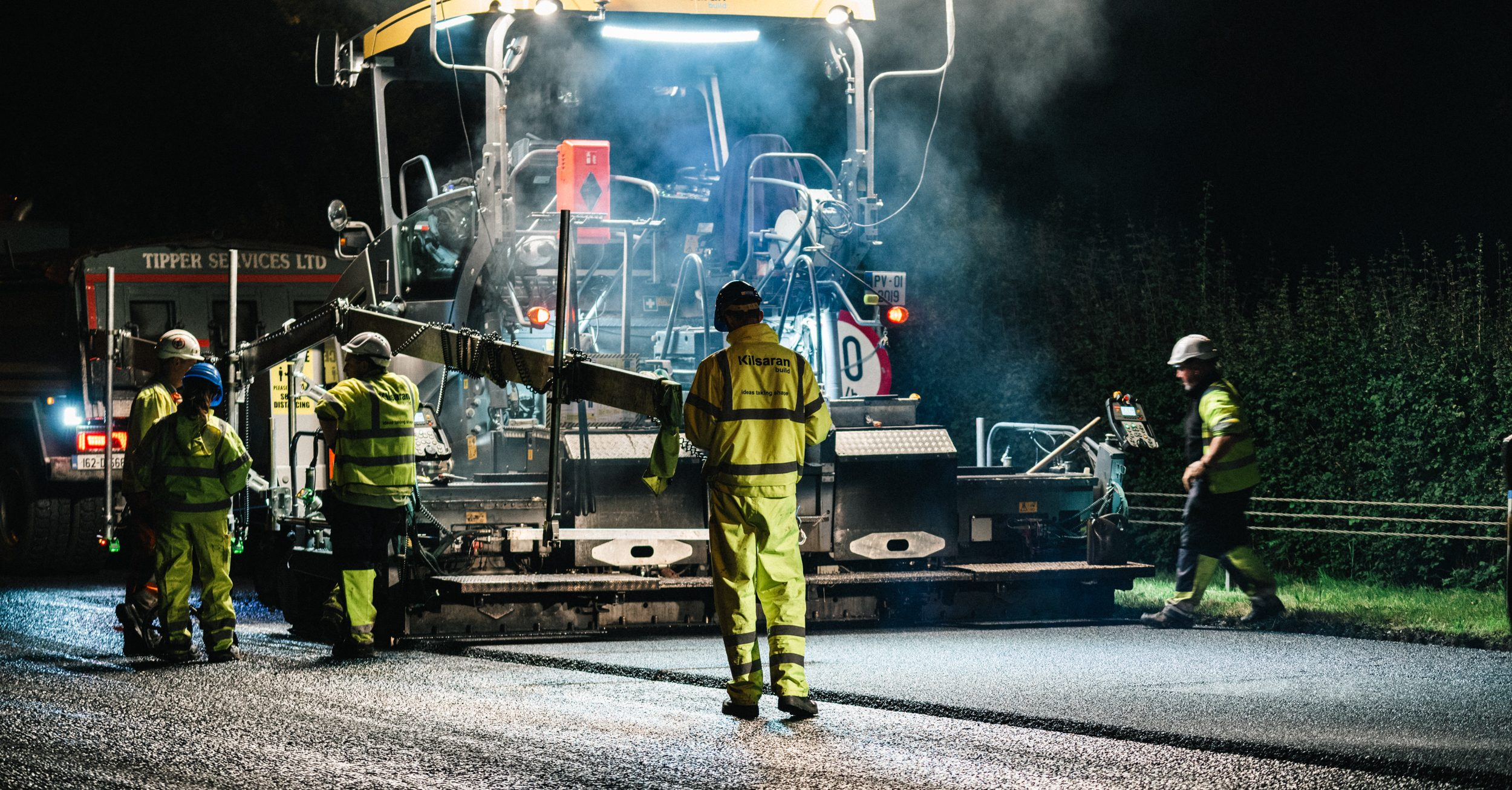 M11 Loughlinstown Roundabout to Junction 5 Pavement Scheme - Road Surfacing and Contracting